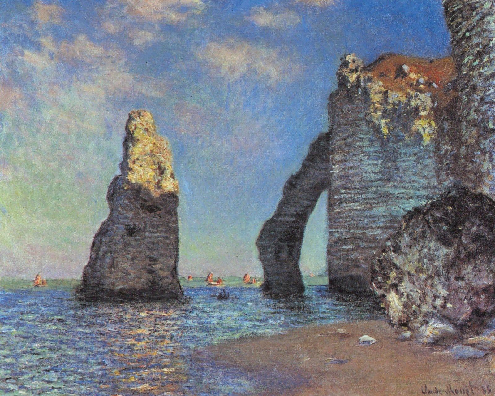 Étretat Monet